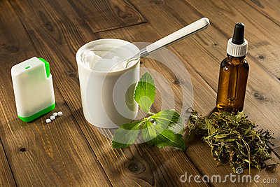 White tablets of stevia