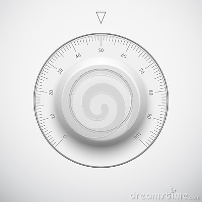 Free White Technology Volume Button With Scale Royalty Free Stock Photo - 29794535