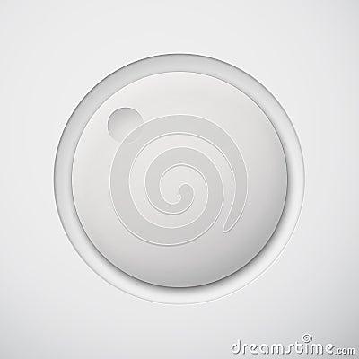 Free White Technology White Volume Button Royalty Free Stock Images - 29795449