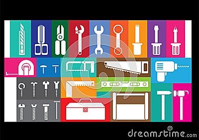White tool kits