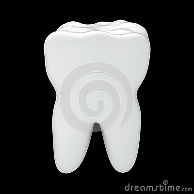 White tooth health