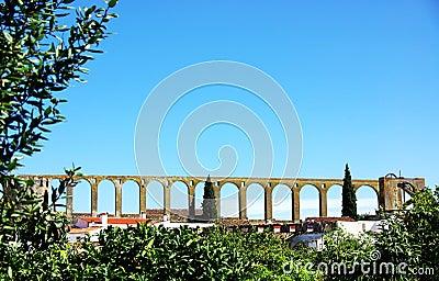 White tower at alentejo region