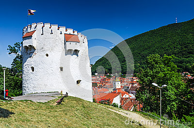 Brasov. Medieval White Tower