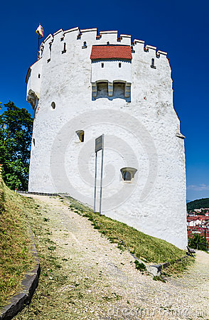 White Tower of Brasov fortifications, Transylvania, Romania