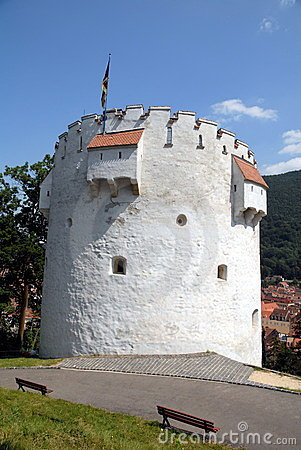The White Tower from Brasov, Romania