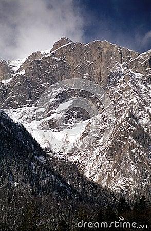 White valley on Bucegi