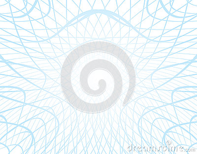 White vector background with distorted grid