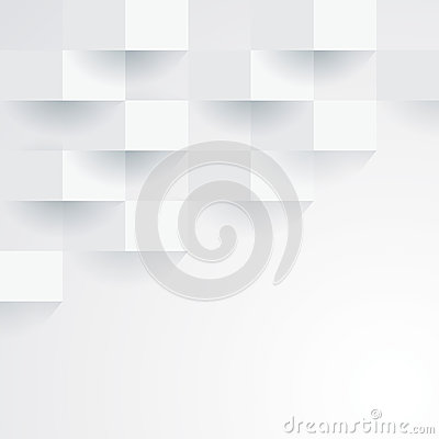 Free White Vector Geometric Background. Royalty Free Stock Photo - 38926475