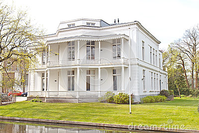 White Victorian House