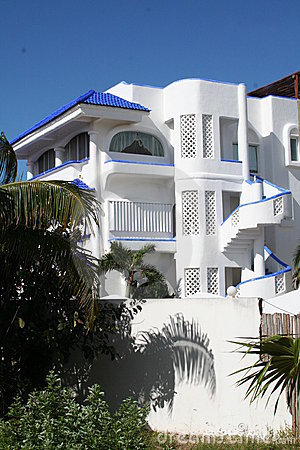 White Villa at Playa del Carmen - Mexico