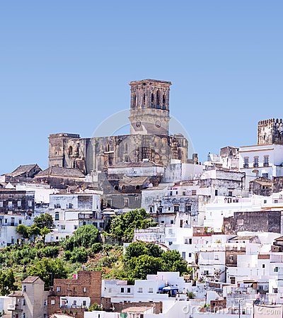 White village of Arcos