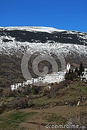 White village, Capileira, Andalusia, Spain.