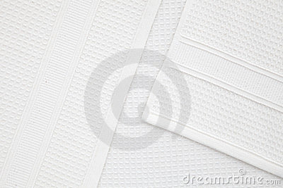 White waffle texture