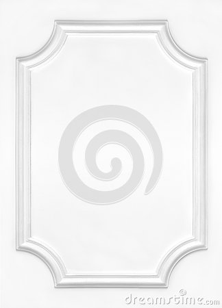 Free White Wall Decorated With Stucco, In The Renaissance, Baroque. Royalty Free Stock Images - 69647879