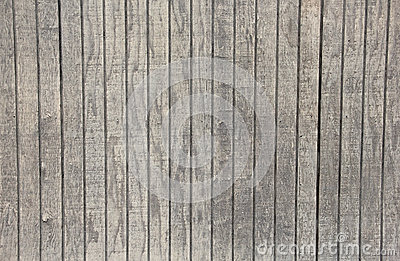 White Washed Wooden Grey Board Fence Background Stock