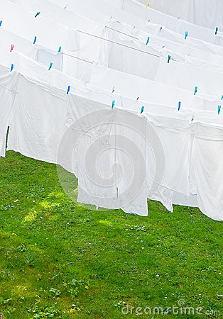 White Washes on the line