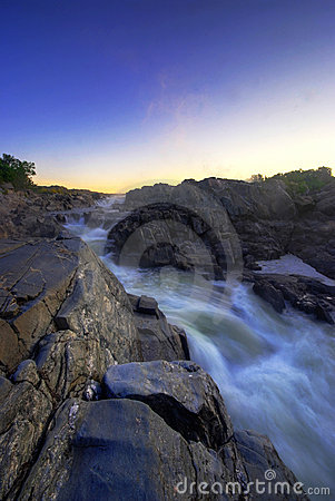Free White Water In Great Falls National Park Virginia Royalty Free Stock Photos - 3042588