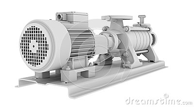 White water pump