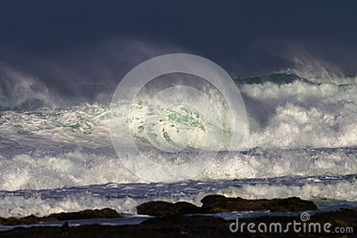 White Water Wave Contrasts