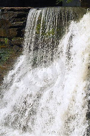 Free White Waterfall Stock Photo - 10108640