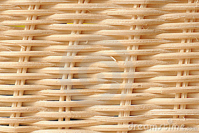 White wicker texture