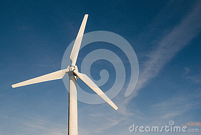 White Windmill Under Clear Blue Sky Free Public Domain Cc0 Image