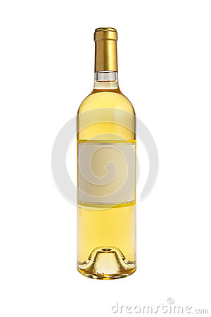 Free White Wine Bottle Stock Images - 29071654