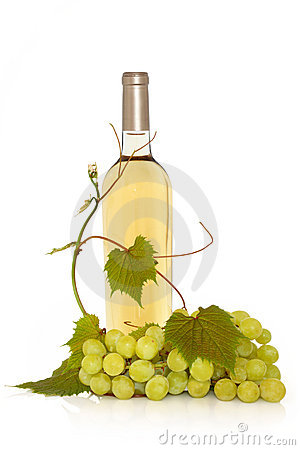 White Wine with Grape Vine