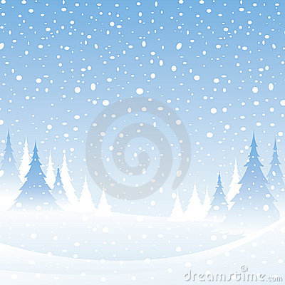 White winter scene