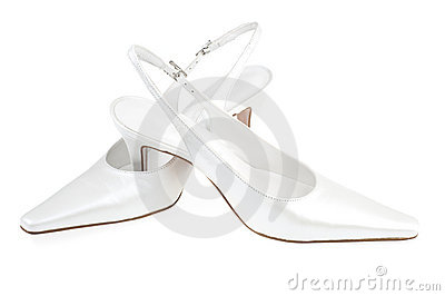 White woman shoes