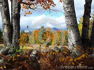 Whiteface Mountain in Fall