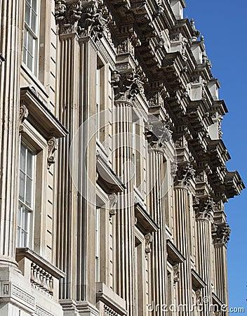 Whitehall building facade