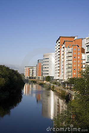 Whitehall Quay Waterfront, Leeds, Yorkshire