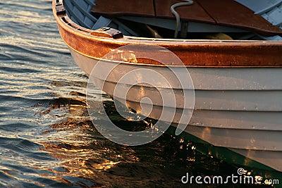 Whitehall row boat