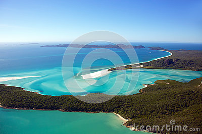 Whitehaven Beach Aerial Whitsunday Islands