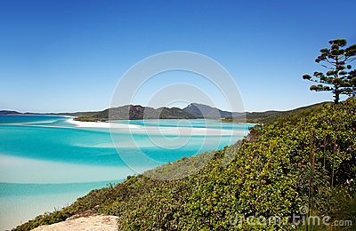 Whitehaven Beach Hill Inlet Lookout