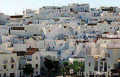 Whitewashed Spanish village