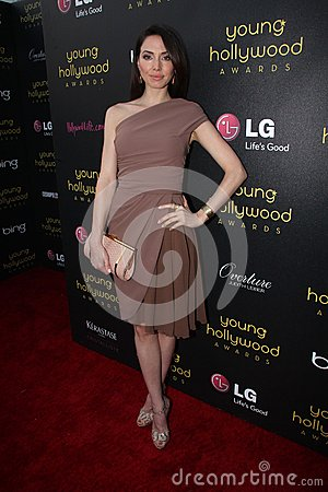 Whitney Cummings at the 14th Annual Young Hollywood Awards, Hollywood Athletic Club, Hollywood, CA 06-14-12 Editorial Photography