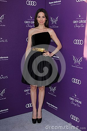 Whitney Cummings at the 2012 Chrysalis Butterfly Ball, Private Location, Los Angeles, CA 06-09-12 Editorial Image