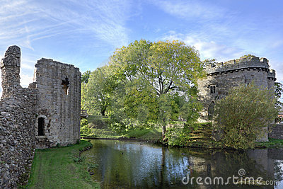 Whittington castle Shropshire