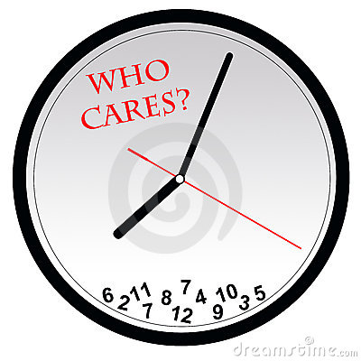 Who cares about time?