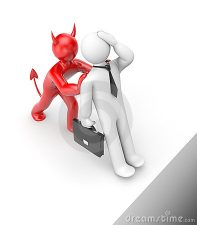 Who pushes you in a chasm? Business metaphor