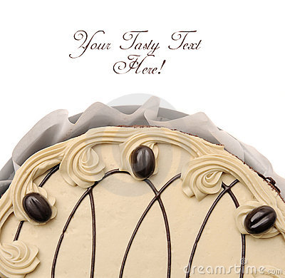 Whole cake.