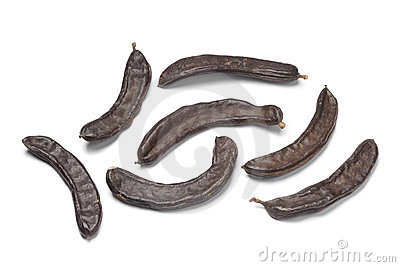 Whole Carob pods