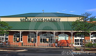 Whole Foods Market Organic Store Editorial Stock Photo