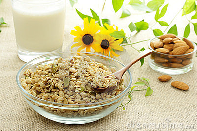 Whole Grain Cereal Royalty Free Stock Photo - Image: 23879085