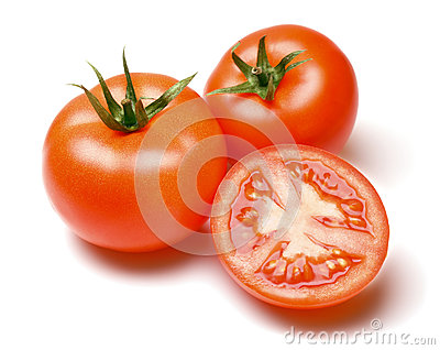 Whole and Half Tomatoes
