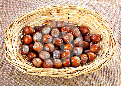 Whole hazelnuts