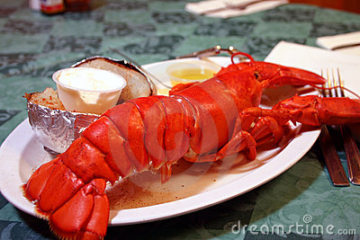 Whole Maine Lobster Dish