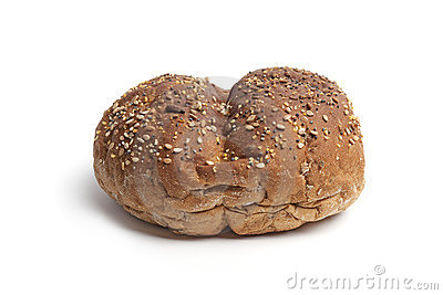 Whole multi grain bread roll